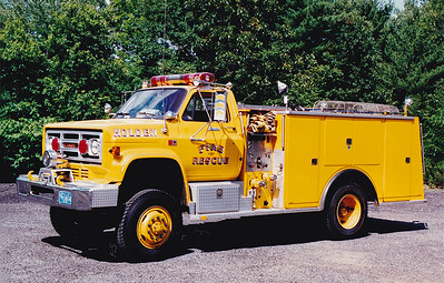 Retired Rescue 1.  1986 GMC / Farrar.  750 / 500
