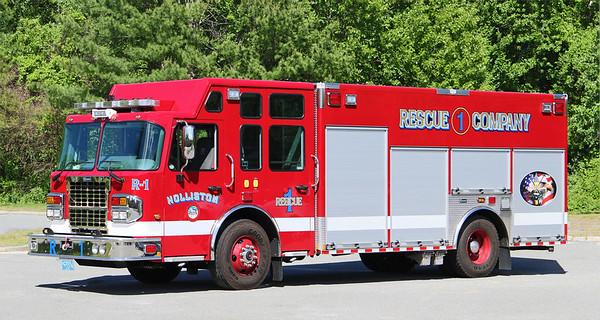 Rescue 1.  2019 Spartan Metrostar / Marion