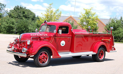 Retired Engine 2.  1941 Ford / Farrar.  500 GPM