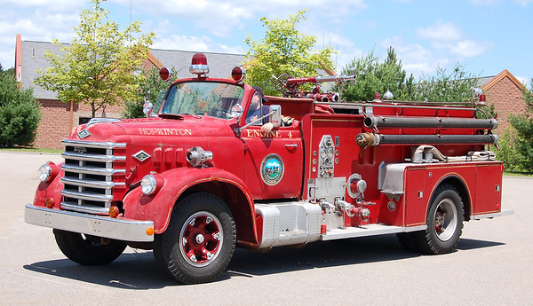 Retired Engine 4.  1952 Diamond Reo / Seagrave.  750 / 750