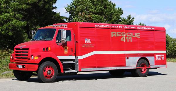 Retired Rescue 411.  1999 Sterling / Hackney