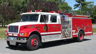 Engine 1 1998 International / KME 1250/1000
