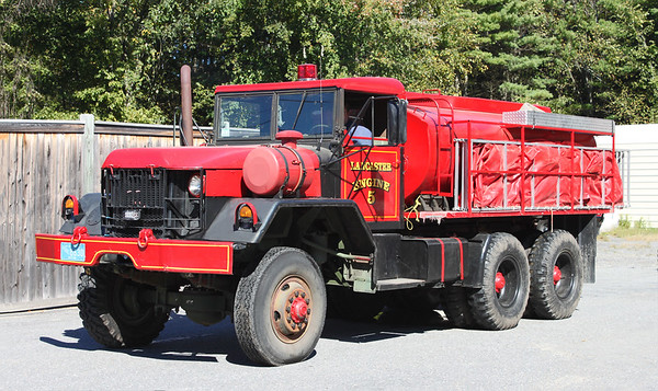 Retired Engine 5.  1980 Am General 6x6.  125 / 2200