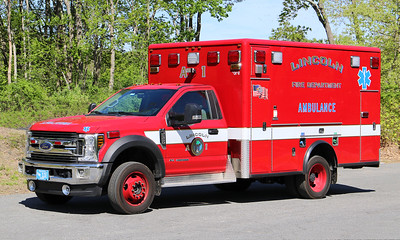 Ambulance 1   2019 Ford F-550 / 2010 Horton Remount