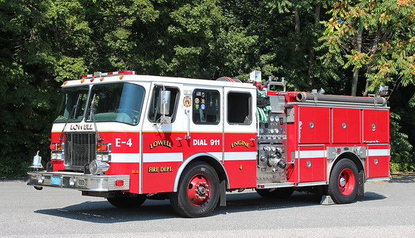 Engine 4   2001 E-One Cyclone   1250 / 750