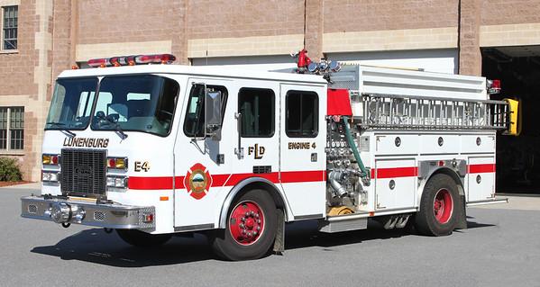 Engine 4.    1995 E-One.   1000 / 1250