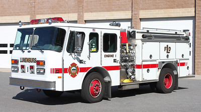 Retired Engine 1.  1991 E-One.  1000 / 750