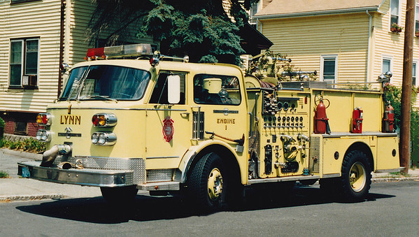 Retired Engine 1.  1975 American LaFrance Century.  1000 / 500