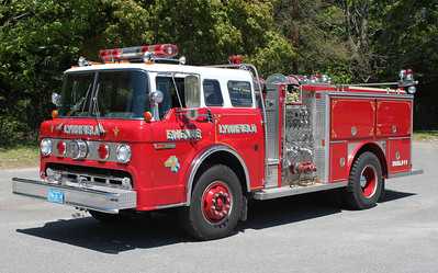 Engine 4 1984 Ford/E-One 1000/500