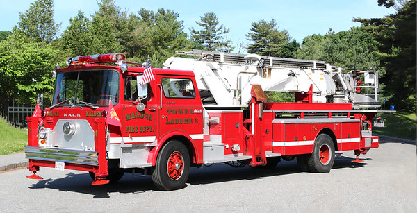 Retired   Tower 3   1971 Mack CF / Baker   75' Tower