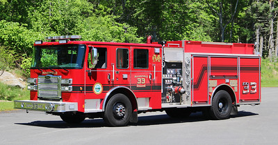Engine 33.  2019 Pierce Enforcer   1250 / 750