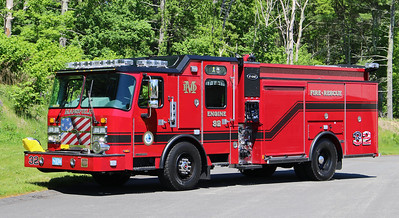 Engine 32.  2019 E-One Typhoon E-Max  1500 / 750 / 30F