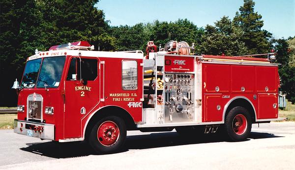 Retired Engine 2   1985 Kenworth / FMC.  1000 / 500