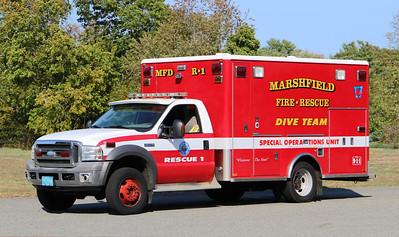 Rescue 1.  2005 Ford F-450 / Horton