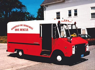 Retired Rescue 1.  1974 Chevy Step Van