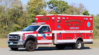 Paramedic 2.  2018 Ford F-550 / Horton
