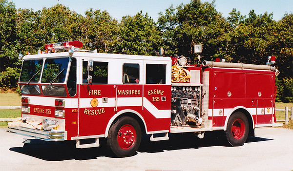 Retired Engine 355.  1971 Ward LaFrance   1000 / 500