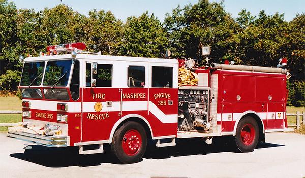 Retired Engine 355.  1971 Ward LaFrance   1000 / 500