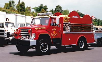 Retired Engine 356.  1986 International / Middlesex.  1000 GPM / Hose Reel