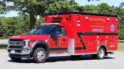 Ambulance 361   2019 Ford F-550 / Lifeline