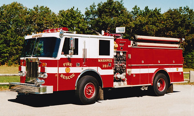 Retired Engine 351   1989 Simon Duplex / Middlesex   1500 / 750 (Refurb 1997)