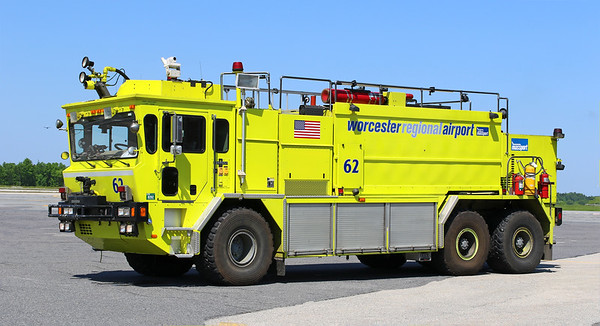 Retired   Worcester Engine 62.  1994 Oshkosh T-3000.  3000 Gallons / 400 Foam / 950 Lbs Dry Chemical