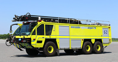 Crash 61   2016 Rosenbauer Panther   1800 / 3000 / 400AFFF / 500 Dry Chemical / 460 Halotron / 54' Stinger