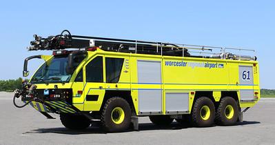 Crash 61   2016 Rosenbauer Panther   1800 / 3000 / 400AFFF / 500 Dry Chemical / 460 Halotron / 54' Stinger