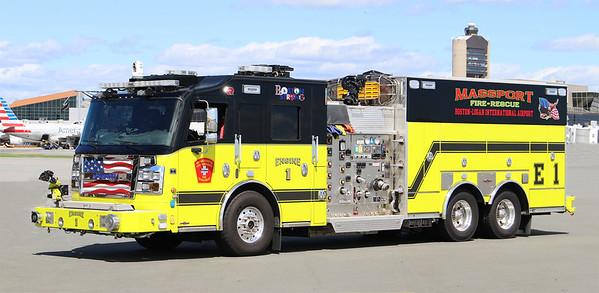 Engine 1.  2019 Rosenbauer Commander   1500 / 1500 / 250 AFFF / 250 AF AFFF