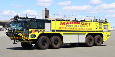 Engine 3.  2018 Oshkosh Striker   1950 / 4500 / 630 / 450 Dry Chem / 460 Halotron