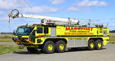 Engine 6.  2010 Oshkosh Striker.  1950 / 4500 / 630F / 450 Dry Chem / 460 Halotron / 65' Snozzle