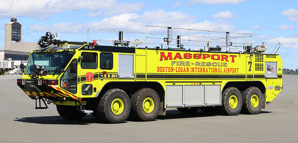 Engine 7.  2012 Oshkosh Striker   1950 / 4500 / 630 F / 450 Dry Chem / 460 Halotron