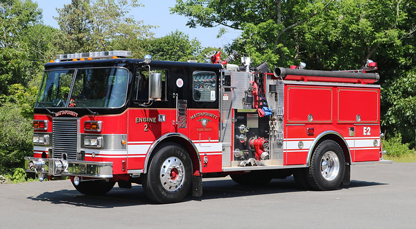 Engine 2 .  1989 Pierce Lance .  1250 / 750