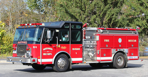 Engine 1   2001 E-One Protector   1250 / 750