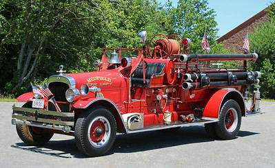 Retired Engine 1.  1929 Seagrave