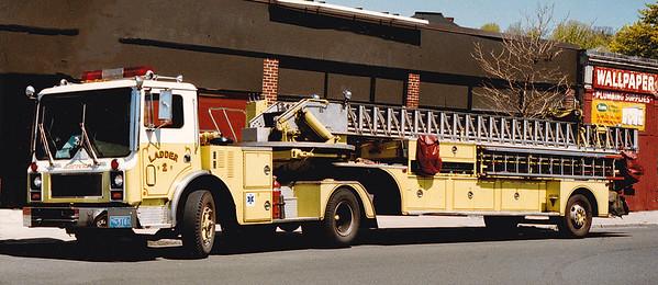 Retired Ladder 2.  1981 Mack MC / 63 Pirsch.  85' TT