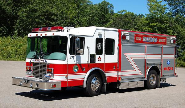 Rescue 1.  2001 HME / Central States.  500 / 400