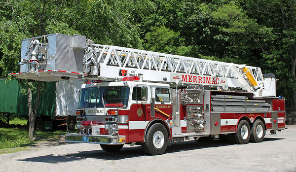 Retired.  Tower 1.  1983 Duplex / FMC / LTI   1500 GPM / 100' Tower