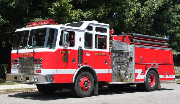Pre - Refurb   Engine 1   1995 KME   1250/1000