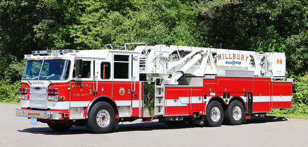 Tower 1.  2012 Pierce Arrow XT.  95' Tower