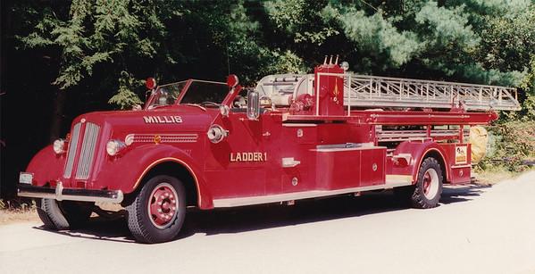 Retired Ladder 1.  1949 Seagrave   75'