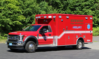 Ambulance 4   2018 Ford F-550 / Wheeled Coach