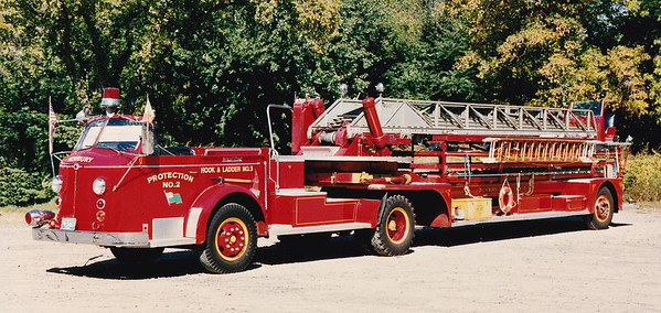 Retired Ladder 3.  1955 American LaFrance   100' TT