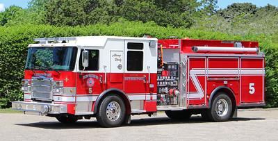 Engine 5.  2019 Pierce Enforcer   1500 / 750 / 30F
