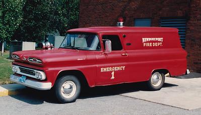 Retired Emergency 1.  1963 Chevy