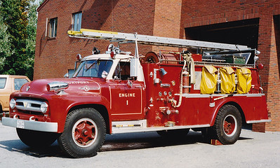 Retired Engine 1.  1956 Ford