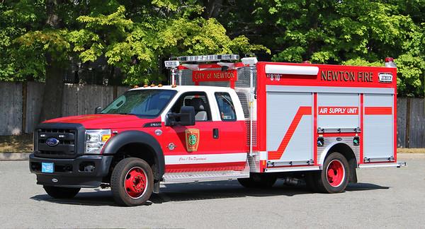 Air Supply Unit   2014 Ford F-550 / E-One