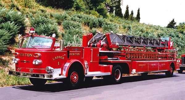 Retired Ladder 1.  1969 American LaFrance   100' TDA
