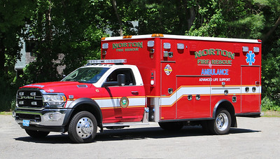 Ambulance 41.  2020 Dodge Ram / Horton
