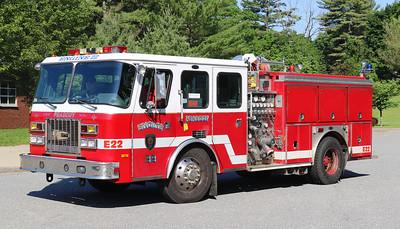 Engine 22.  1994 E-One Sentry.  1250 / 750